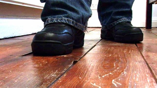 Ламинат скрипит под ногами