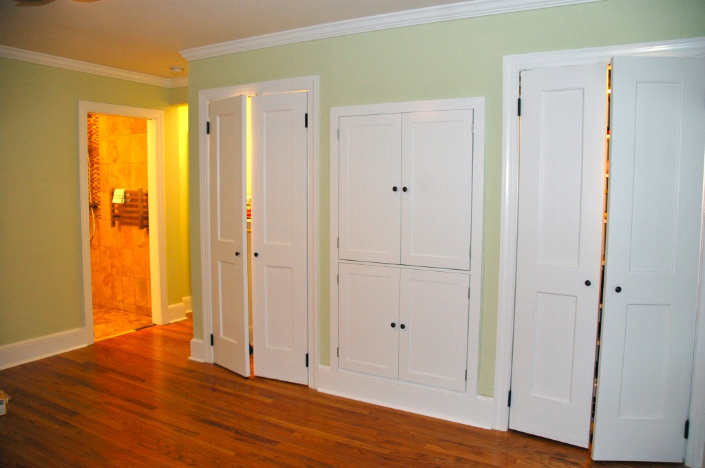 Контраст в оформлении комнаты