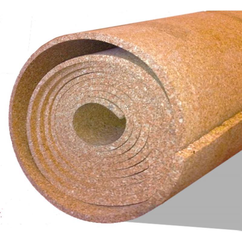 Пробковая подложка под ламинат