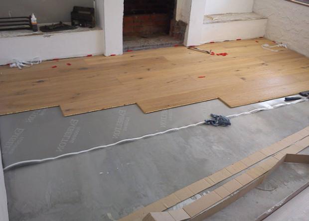 Ламинат на бетонный пол